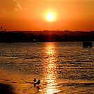 Noosa River Sunset Oct 2012. by tunna