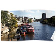 River Ouse @ York Poster