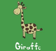 G for Giraffe by gillianjaplit