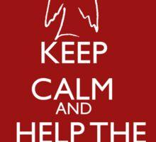 Help the helpless Sticker