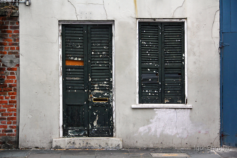 New Orleans Windows and Doors VI by Igor Shrayer