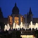 The Magic Fountain of Montjuic by Segalili