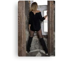 Mysterious woman 2 Canvas Print