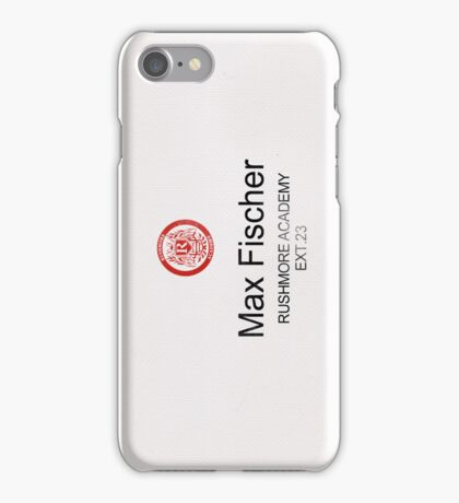 Rushmore Academy Phone iPhone Case/Skin