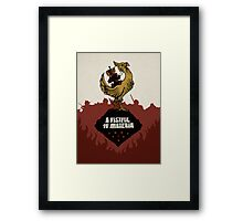 A Fistful of Materia Framed Print