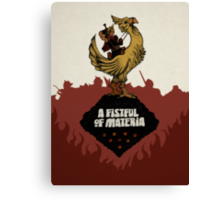 A Fistful of Materia Canvas Print