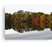 Lake Kaleidoscope Canvas Print