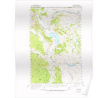 USGS Topo Map Washington State WA Loomis 242059 1956 62500 Poster