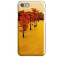 cypress trees on the bayou iPhone Case/Skin