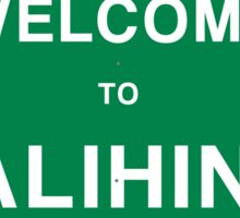 Welcome to Talihina Sticker