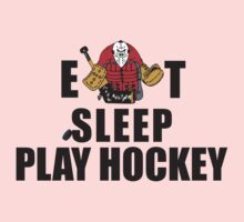 Eat Sleep Play Hockey Kids Clothes