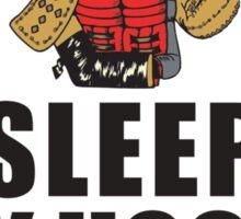 Eat Sleep Play Hockey Sticker