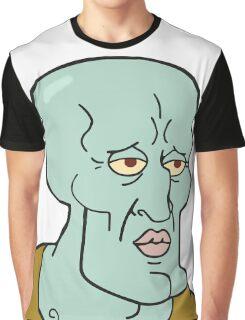 Handsome squidward Graphic T-Shirt
