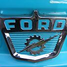 Ford F100 Pick Up Badge by Russell Voigt