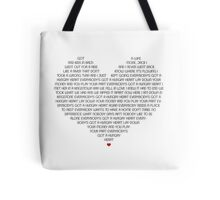 Hungry Heart Tote Bag