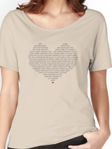 Hungry Heart Women's Relaxed Fit T-Shirt