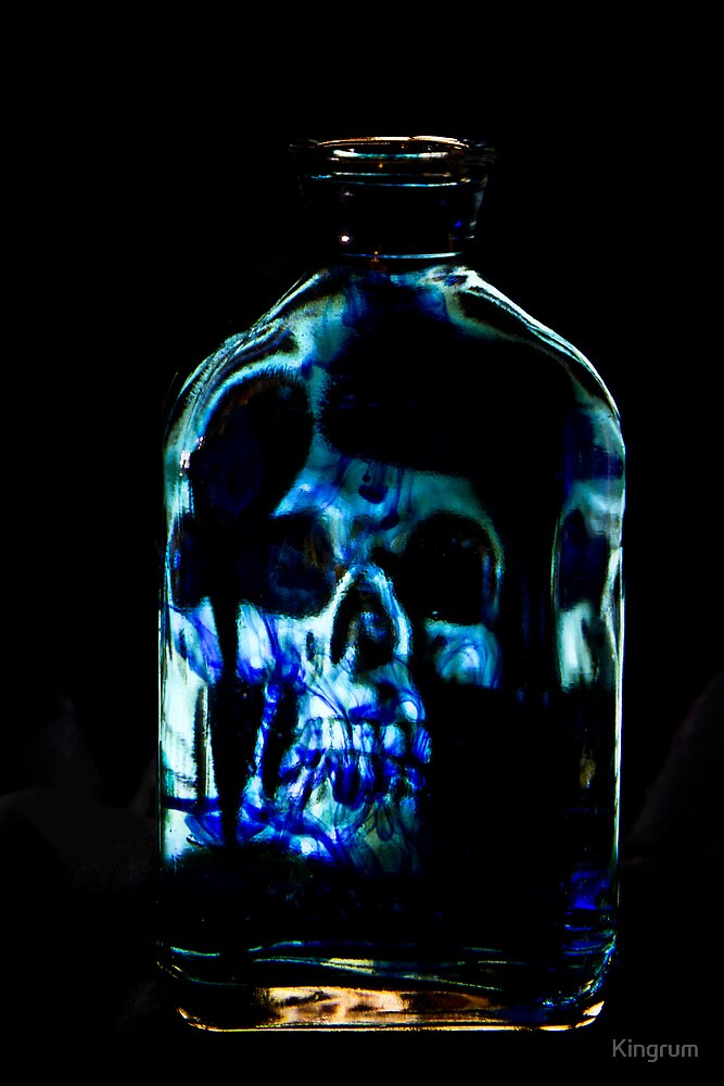 The Blue Bottle by Kingrum
