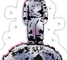 Space raincloud Sticker