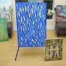 bleu abstract, by artmuller2003