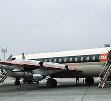 Bristol Vanguard at Orly airport  196104190178 by Fred Mitchell