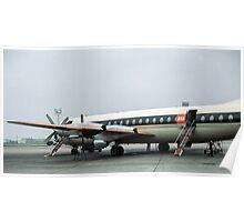 Bristol Vanguard at Orly airport  19610419 0178 Poster