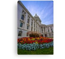 State Capitol, Madison, Wisconsin Canvas Print