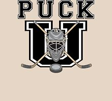 "Hockey ""PUCK U"" Unisex T-Shirt"