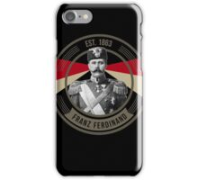 The Archduke Franz Ferdinand iPhone Case/Skin
