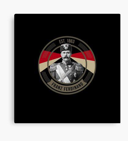 The Archduke Franz Ferdinand Canvas Print