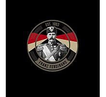 The Archduke Franz Ferdinand Photographic Print