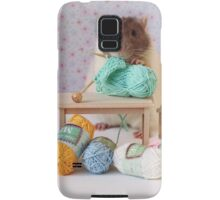 Snoozy wanted to knit ! Samsung Galaxy Case/Skin