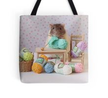 Snoozy wanted to knit ! Tote Bag