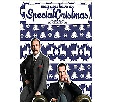 May you have an SPECIAL Xmas [Johnlock] Photographic Print