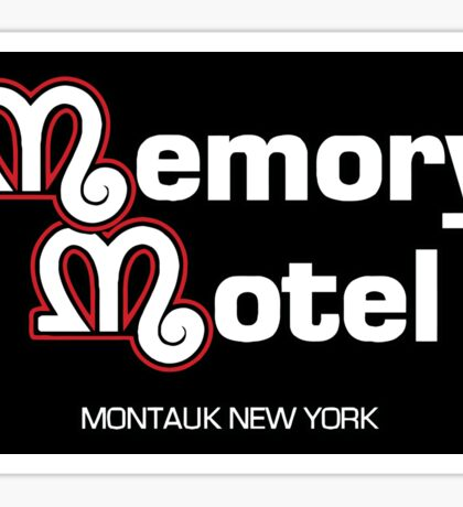 Memory Motel Sticker