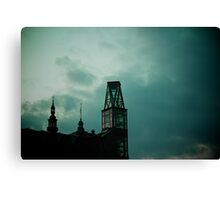 Bell tower evolution Canvas Print