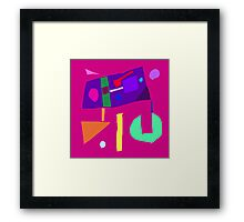 Mesmerized Oriental Saying Goes like This Framed Print