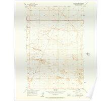 USGS Topo Map Washington State WA Winchester SE 244742 1956 24000 Poster