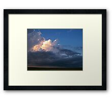 Thunder Boomers Framed Print