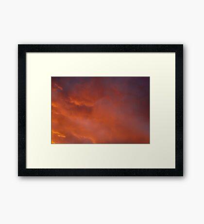 Soft Tennessee Sky Framed Print