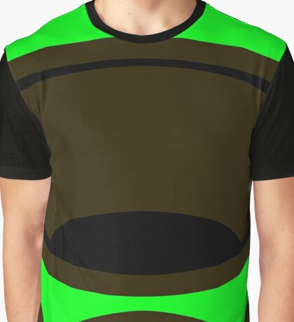Emergency Escape Mask (or Smoke Hood, or Gas Mask) Sign Graphic T-Shirt