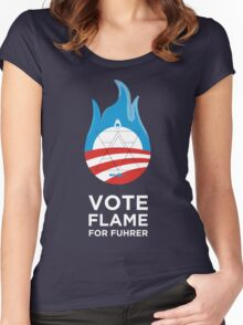 Flame for Fuhrer Women's Fitted Scoop T-Shirt