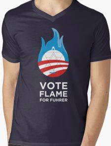 Flame for Fuhrer Mens V-Neck T-Shirt