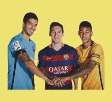 Messi, Suárez and Neymar Kids Clothes
