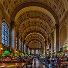 Boston Public Library by LudaNayvelt