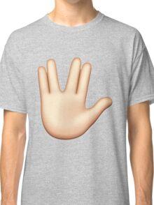 Vulcan hand emoji Classic T-Shirt