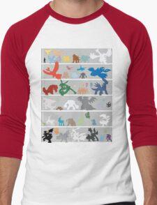 Pokemon Size Chart Color T-Shirt