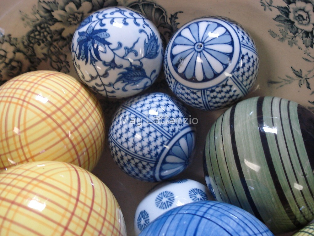 A BOWL OF BALLS by May Lattanzio