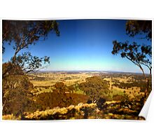 The view from Mt Rumbee Poster