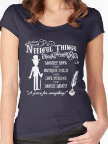 Mr. Needful Shirt Women's Fitted Scoop T-Shirt