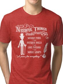 Mr. Needful Shirt Tri-blend T-Shirt